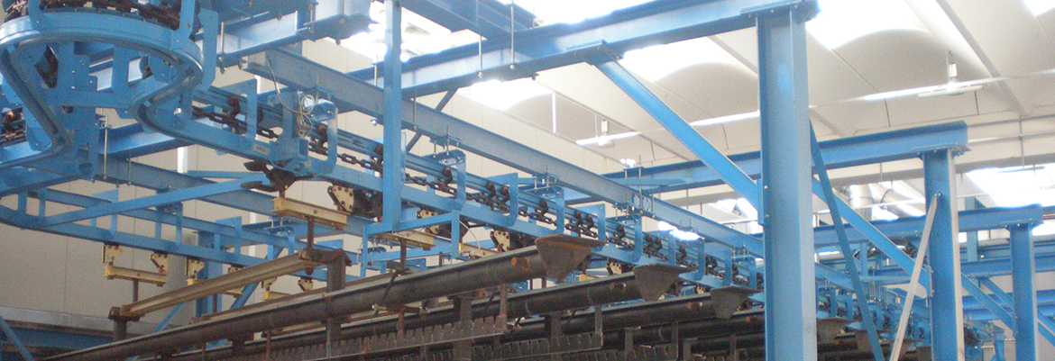 I Beam Conveyors Handling Systems Power And Free Conveyors